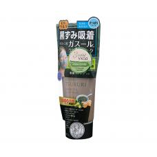 TSURURI Крем-скраб для лица с вулканической глиной, каолином и коричневым сахаром 150 г