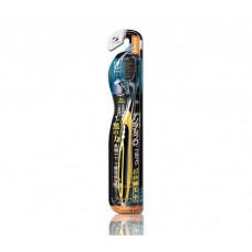 DENTALPRO Black Ultra Slim Plus Щетка зубная многоуровневая (мягкая)