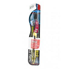 DENTALPRO Black Ultra Slim Plus Щетка зубная многоуровневая (средней жесткости)