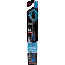 DENTALPRO Black Diamond Щетка зубная одноуровневая с ультратонкой щетиной алмазной формы (жесткая)