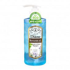 Moist Diane Botanical Refresh Шампунь бессиликоновый бессульфатный Питание 480 мл