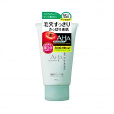 BCL AHA Basic Пенка-скраб для лица очищающая с фруктовыми кислотами 120 г