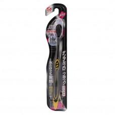 DENTALPRO Black Compact Head Щетка зубная одноуровневая (средней жесткости)