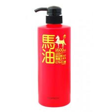 Шампунь на основе лошадиного масла Юниматрикен с гидролизованным шёлком, экстрактом морских водорослей, гиалуроновой кислотой. Shampoo Unimatriken.