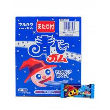 Резинка жевательная Marukawa  Blue Gum Soda (Лимонад) Aobee, синяя, 4.3г, 1/53/1272