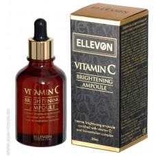 ELLEVON Осветляющая сыворотка с витамином С 50ml
