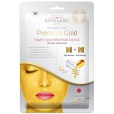 Estelare ГИДРО-Альгинатная маска Premium GOLD для всех типов кожи