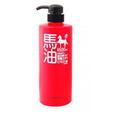 Кондиционер для волос на основе лошадиного масла Юниматрикен с гидролизованным шёлком, экстрактом морских водорослей, гиалуроновой кислотой. Conditioner Unimatriken.