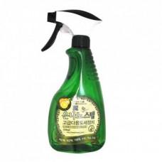 Универсальное жидкое чистящее средство для дома с серебром 550 ml,