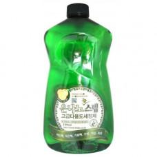 Универсальное жидкое чистящее средство для дома с серебром 1100 ml,