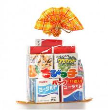 Резинка жевательная Marukawa Ассорти из 11 жев резинок, 58,2 г.,