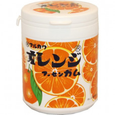 "Резинка жевательная Marukawa ""Orange Bottle Gum""(апельсин), 130 г"