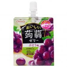 Желе питьевое Tarami Конняку со вкусом Винограда 150г