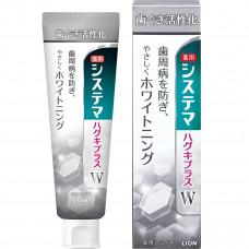 """""""LION"""" """"Dentor Systema gums plus White"""" Зубная паста для профилактики болезней десен и придания белизны зубам, 95 г.,"""