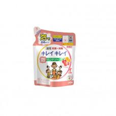 """""""Lion"""" """"KireiKirei"""" Пенное мыло для рук с ароматом фруктов (запасной блок с крышечкой), 450 мл."""