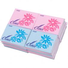 """""""Kami Shodji"""" """"ELLEMOI"""" Бумажные двухслойные салфетки (платочки) 10 шт. 20 пачек/упак,"""