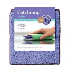 Впитывающая подушечка для кухниCATCHMOP15х18см, фиолетовый+зелёный