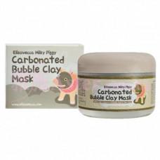 ЕЛЗ Milky Piggy Маска для лица глиняно-пузырьковая Carbonated Bubble Clay Mask 100гр