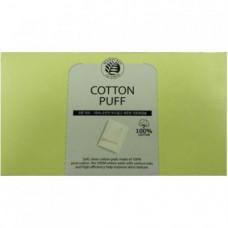 СМ Спонжи косметические из 100% хлопка The Saem Cotton Puff(new) 80шт