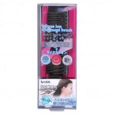 Щетка массажная для ухода за волосами с отрицательно заряженными ионами (складная)