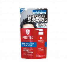 """Мужской увлажняющий шампунь-гель""""Pro Tec"""" с легким охлаждающим эффектом (мягкая упаковка 230 г)"""