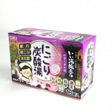 """""""Hakugen Earth"""" """"Банное путешествие"""" Увлажняющая соль для ванны с восстанавливающим эффектом  45 гр.*16 табл."""