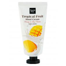 """Крем для рук """"Тропические фрукты"""" с манго и маслом ши, 50мл, FarmStay"""