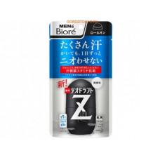 """""""Men's Biore"""" Deodorant Z Шариковый дезодорант-антиперспирант с антибактериальным эффектом , без аромата, 55 мл."""
