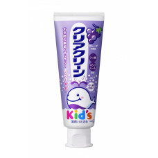 """""""Clear Clean"""" Детская зубная паста с мягкими микрогранулами для деликатной чистки зубов, виноград, 70 г."""