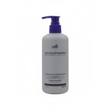 LADOR ANTI YELLOW SHAMPOO Шампунь для светлых волос для нейтрализации желтого пигмента 300мл