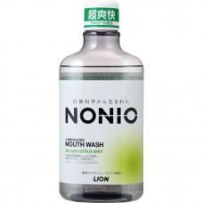"""LION Ежедневный зубной ополаскиватель """"Nonio"""" с длительной защитой от неприятного запаха (аромат цитрусовых и мяты) 1000 мл"""