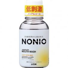 """LION Ежедневный зубной ополаскиватель """"Nonio"""" с длительной защитой от неприятного запаха (без спирта, легкий аромат трав и мяты) 1000 мл"""