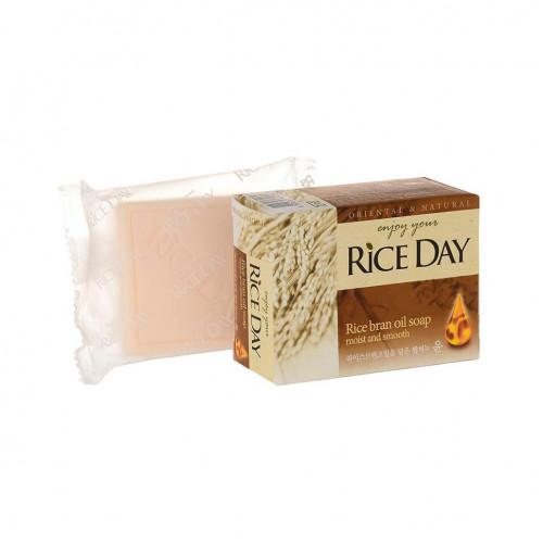 """Мыло туалетное с экстрактом рисовых отрубей """"Riceday"""" 100 г"""