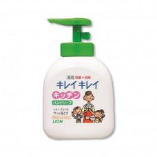 LION Kirei Kirei Пенное антибактериальное мыло для рук, флакон-дозатор, 250 мл