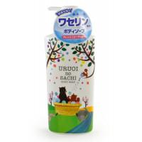MAX Uruoi No Sachi Body Soap Жидкое мыло для тела (с ароматом персика), з/б, 400 мл
