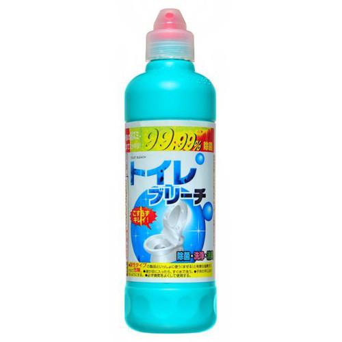 Гель для чистки унитаза и туалетной комнаты, с хлором, дезинфицирует и отбеливает, 500 г