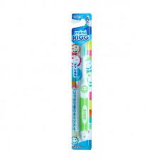 """""""EBISU"""" Зубная щетка (д/детей от 3-х лет. Прямой срез ворса, пластм. ручка. Ср. жёстк.)"""