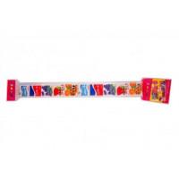 Резинка жевательная Marukawa Ассорти из 5 вкусов, 50 г.,пакет из полимерного материала,15шт.*8бл.
