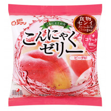 "Желе ""Yukiguni Aguri"" порционное Конняку со вкусом персика (6шт х18г), 108г"