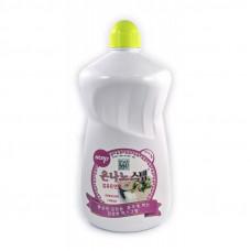 Кондиционер для белья (с частицами серебра, цветочный аромат с нотками мускуса) 1100 ml