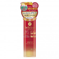Detclear Bright&Peel Peeling Jelly Aging Care Очищающий пилинг-гель с AHA&BHA с эффектом сильного скатывания для зрелой кожи, 180m