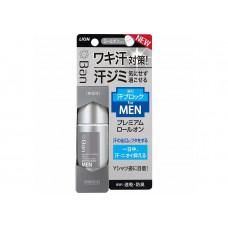 LION Мужской премиальный дезодорант-антиперспирант роликовый ионный блокирующий потоотделение (аромат мыла) 40мл
