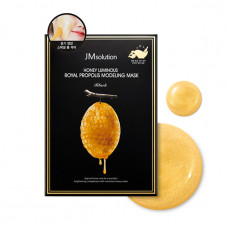 JM SOLUTION HONEY LUMINOUS ROYAL PROPOLIS MODELING MASK Альгинатная маска с экстрактом прополиса55г