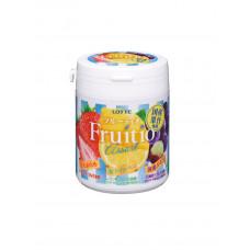 Резинка жевательная FRUITIO Assorted Family Bottle, Lotte, 143гр.,