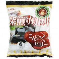"""Желе """"Yukiguni Aguri"""" порционное Конняку со вкусом кофе (6шт х18г), 108г"""