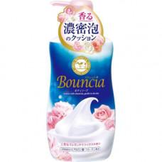 """COW Сливочное жидкое мыло """"Bouncia"""" для рук и тела с ароматом роскошного букета (дозатор) 500 мл"""
