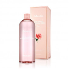 JM SOLUTION GLOW LUMINOUS FLOWER TONER XL Rose Тонер для лица с экстрактом розы 600ml