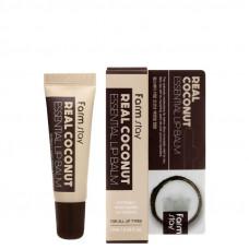 Бальзам для губ - [Farmstay] Real Coconut Essential Lip Balm