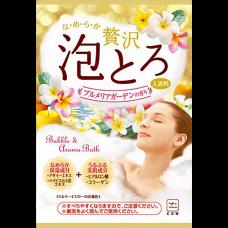 """Ароматическая пенящееся соль для ванны «Тропические цветы» """"Babble & Aroma Bath"""" (1 пакет 30 гр)"""