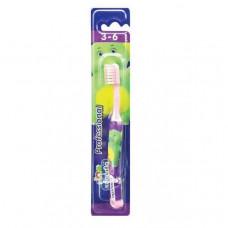 LION Thailand Kodomo щётка зубная для детей от 3 до 6 лет